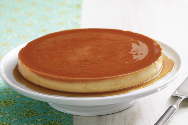 Flan au fromage à la crème Image 1