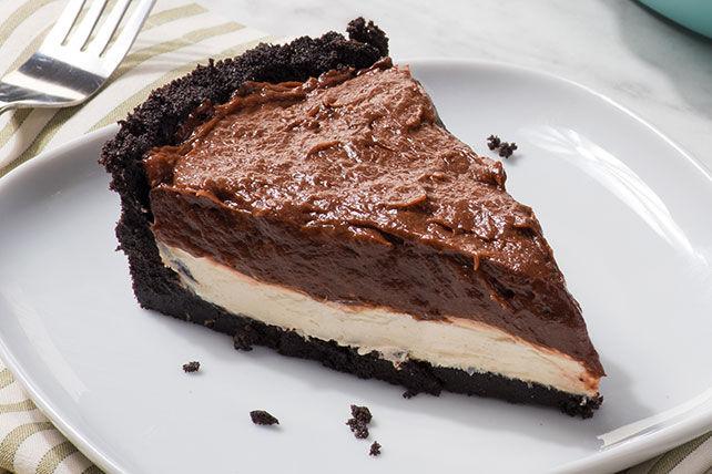 Tarte à la crème choco-caramel Image 1