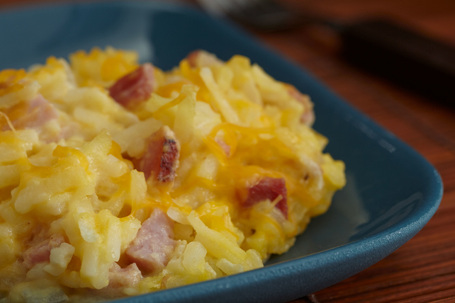 Ham & Cheese Hash Brown Casserole Image 1