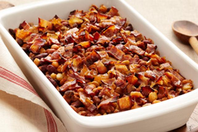 Haricots variés à la casserole Image 1