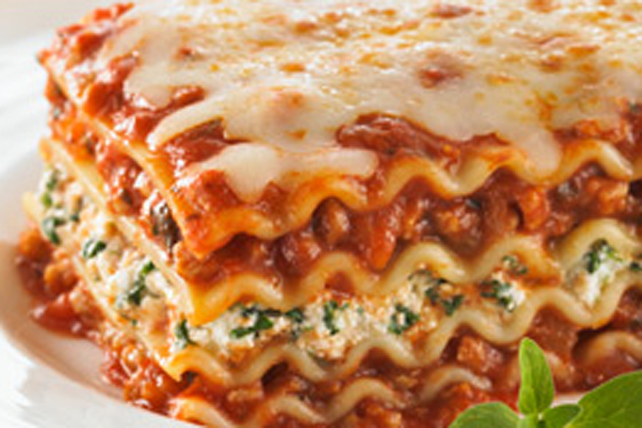 Beef and Spinach Lasagna Image 1