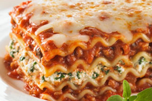 Lasagne Idee Recette.Lasagne Au Bœuf Et Aux Epinards
