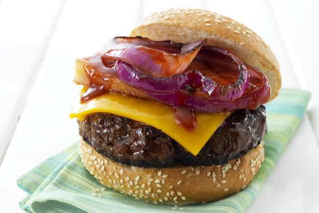 Burgers canadiens au sirop d'érable Image 1