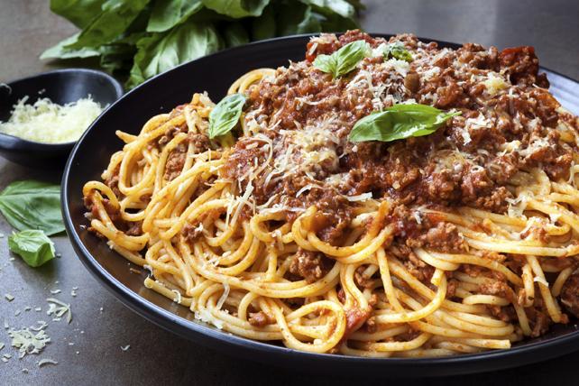 Image result for spaghetti bolognese image