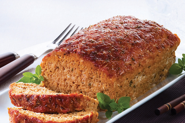 Parmesan-Turkey Meatloaf Image 1