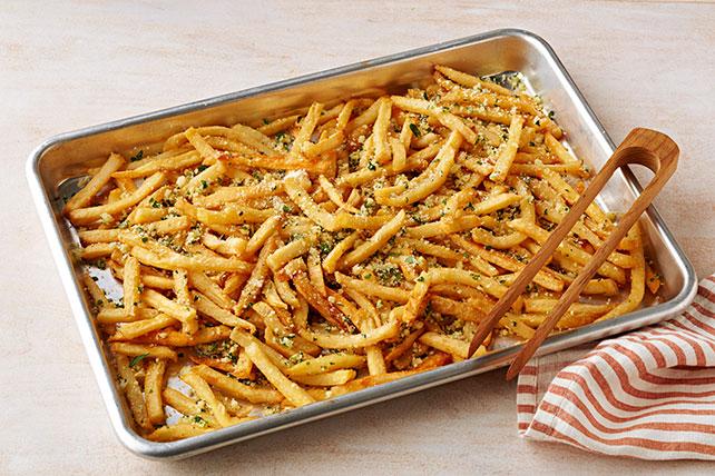 Papas fritas con ajo y queso parmesano Image 1
