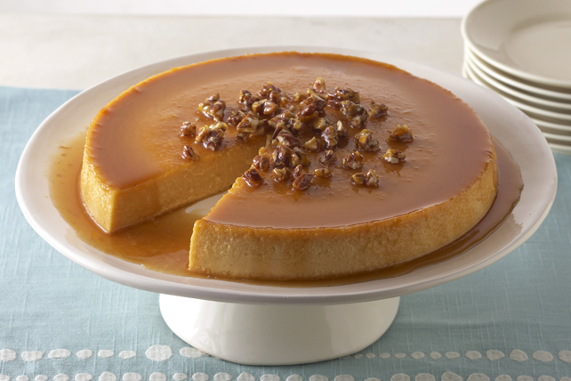 Pumpkin-Cream Cheese Flan Image 1