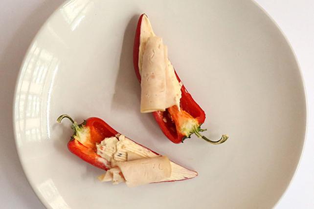 Délice à la dinde sur poivron rouge Image 1