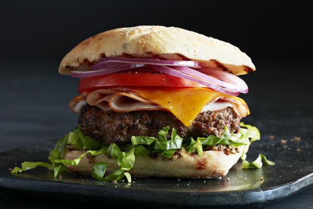 Burgers au fromage «croque-monsieur» Image 1