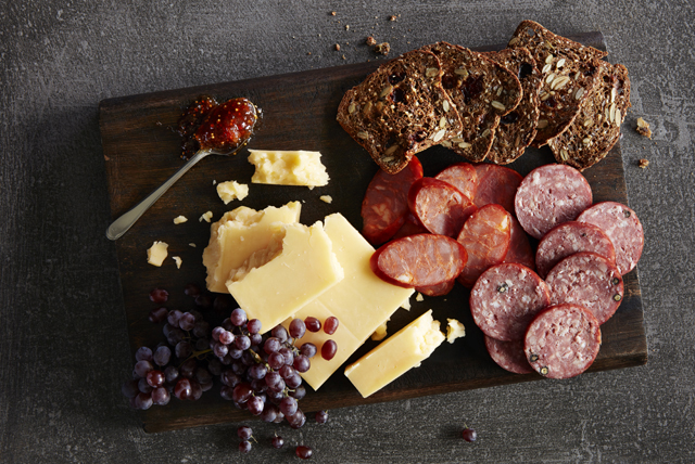Charcuterie Board with Gouda Cheese Image 1