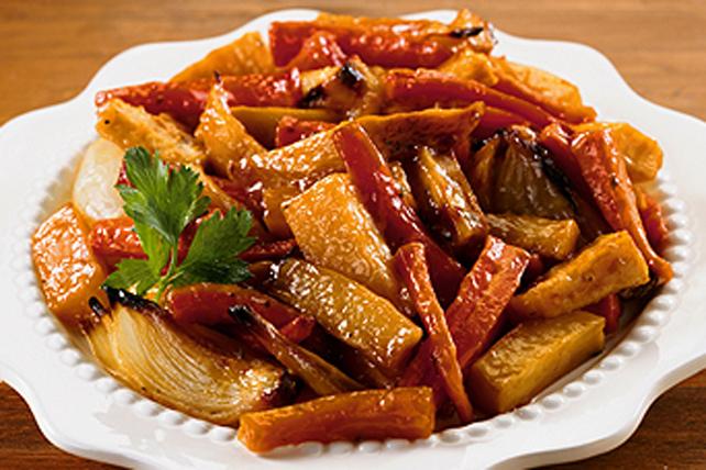 Légumes d'automne rôtis et sucrés Image 1