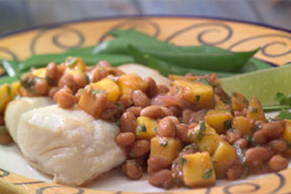Ginger Beans with Mango