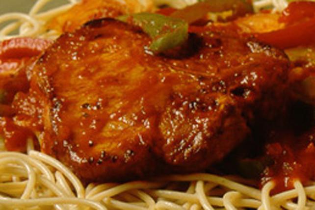 Côtelettes de porc en sauce Image 1