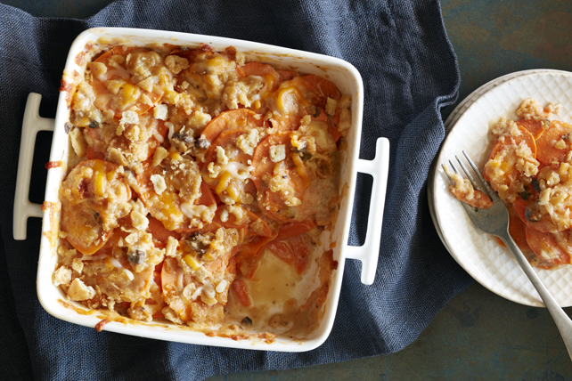Crunchy Scalloped Sweet Potato Bake Image 1