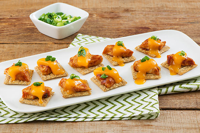 Cheesy BBQ Chicken Bites Image 1