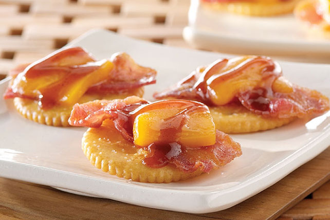 Cheesy BBQ Bacon Toppers Image 1