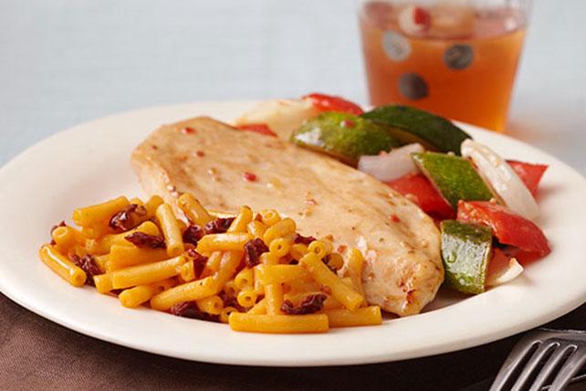 Poulet rôti avec légumes et macaroni au fromage au chipotle Image 1