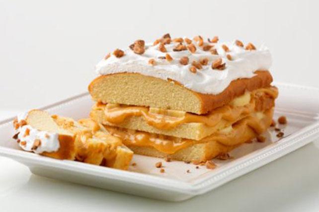 Gâteau aux bananes et au caramel Image 1