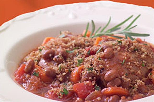 Plat de poulet et de fèves facile Image 1