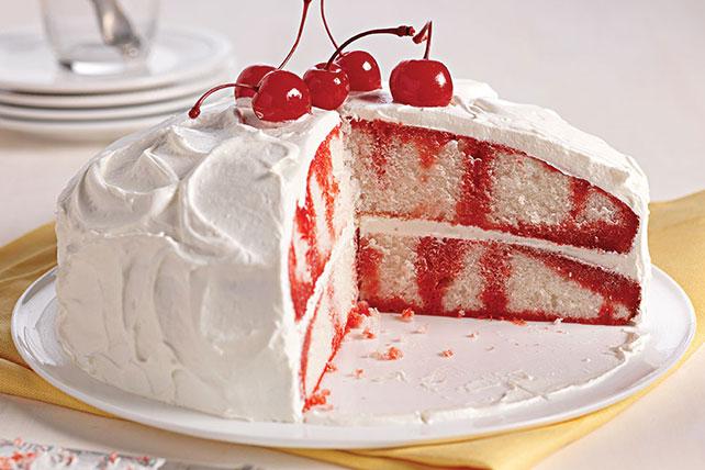 Gâteau à trous à la cerise et à la vanille Image 1