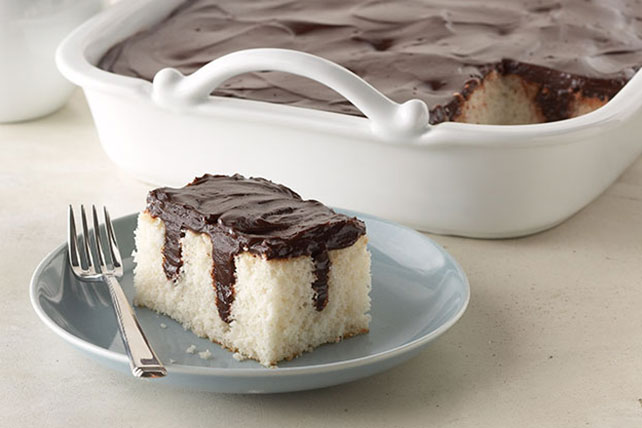 Chocolate Pudding Poke Cake Image 1