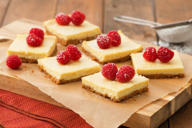 Carrés au gâteau au fromage PHILADELPHIA en 3étapes Image 1