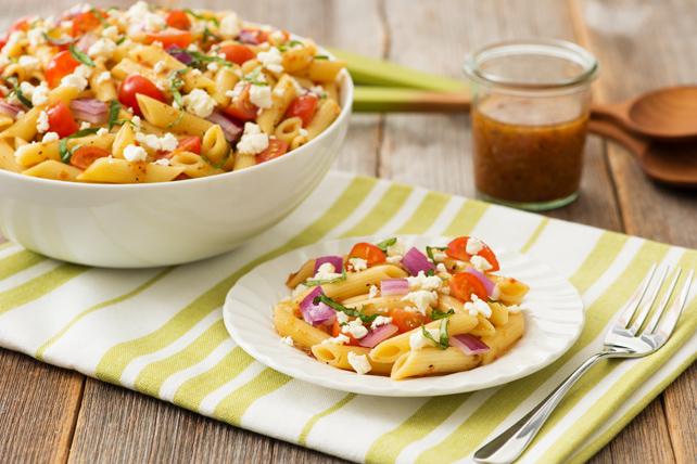 Salade de pâtes toute simple à la toscane Image 1