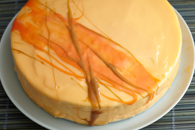 Mirror Glaze Cake with Easy White Chocolate Mousse Image 1