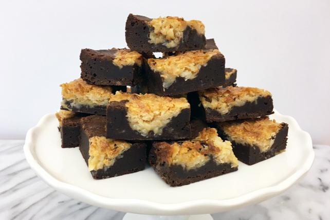 Macaroon Brownies Image 1