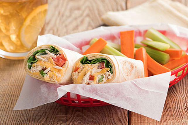Tortilla Tuna Wrap Recipe - Kraft Canada