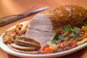 Holiday Roasted Pork Loin