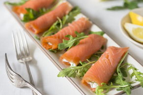 Smoked Salmon Roll-Ups with Philly
