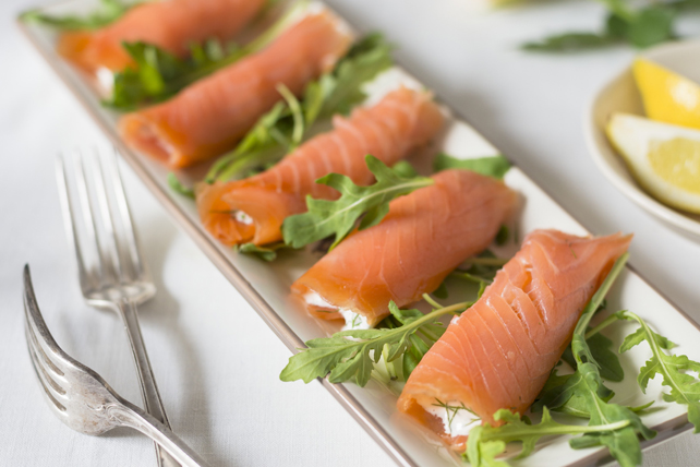 Smoked Salmon Roll-Ups with Philly Recipe - Kraft Canada