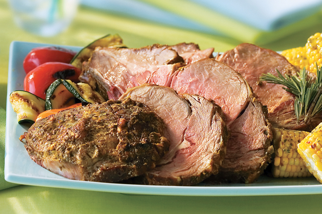 Mustard- & Herb-Crusted Prime Rib Roast Image 1