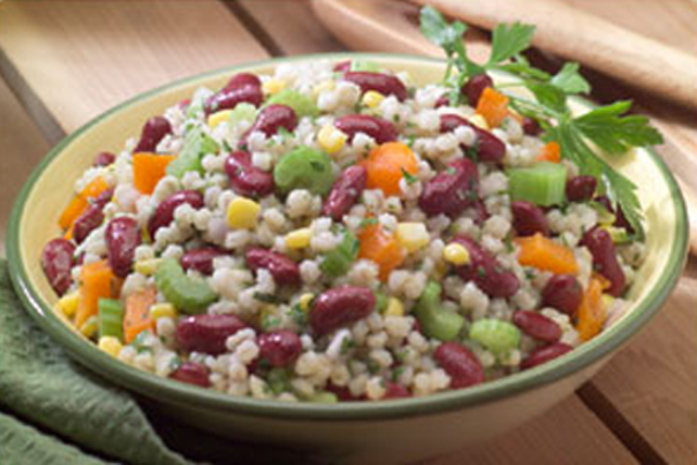 Summertime Bean and Barley Salad