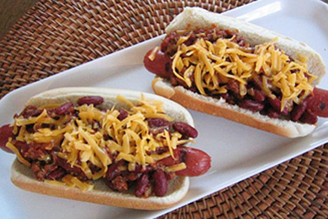 Hot dogs classiques au chili Image 1