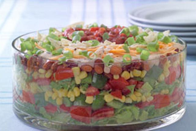 Salade étagée façon tacos Image 1