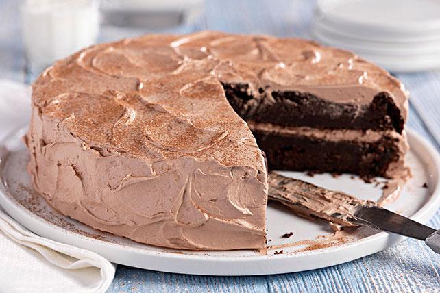 Gâteau au chocolat et à la courgette Image 1