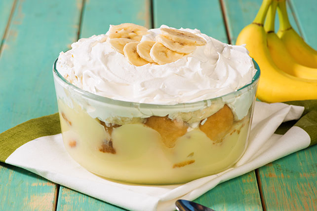 Quick banana pudding recipe kraft canada for Quick dessert recipes with pictures