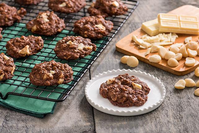 Biscuits divins au chocolat et aux noix de macadamia Image 1