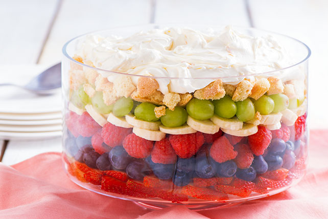 Layered Fruit Dessert Image 1