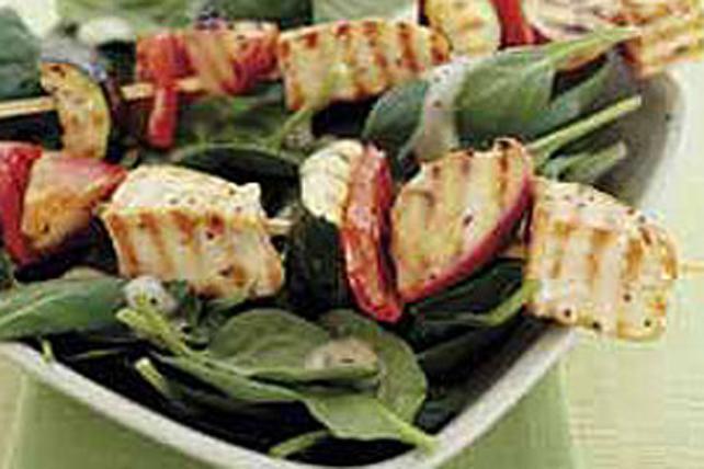 Easy Zucchini & Chicken Kabobs Image 1