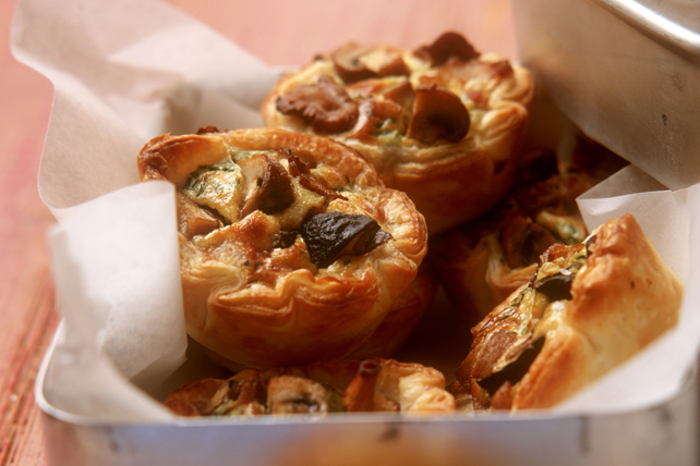 Puff Pastry Mushroom Cups Image 1