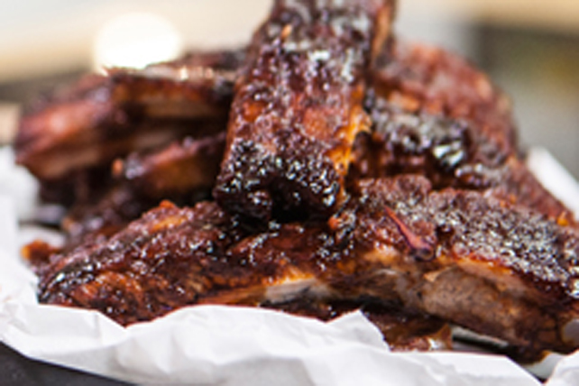 Oven-Baked Sticky Ribs Image 1