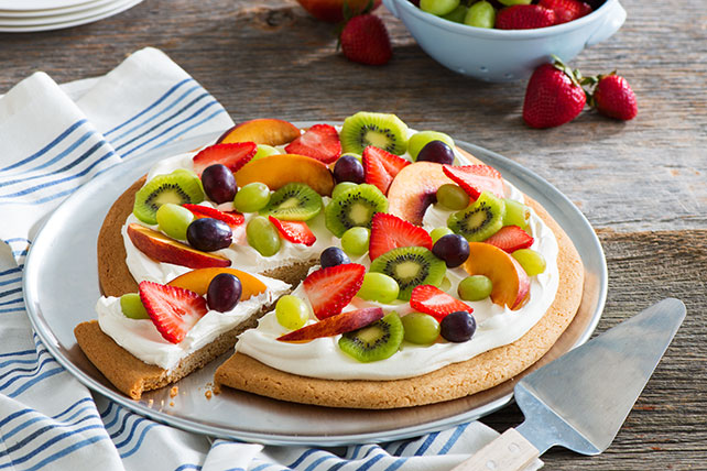 Pizza aux fruits Image 1