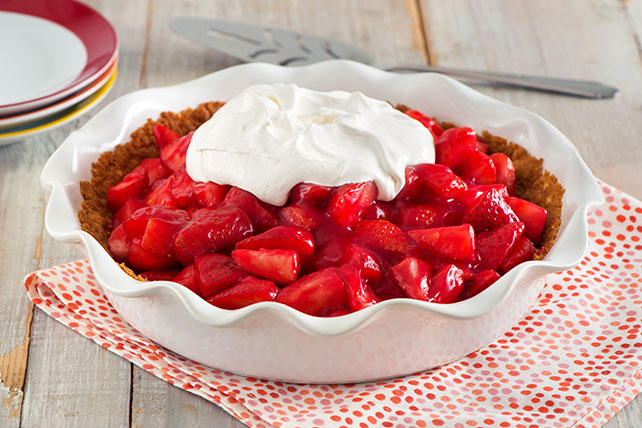 Fresh Strawberry Pie Image 1