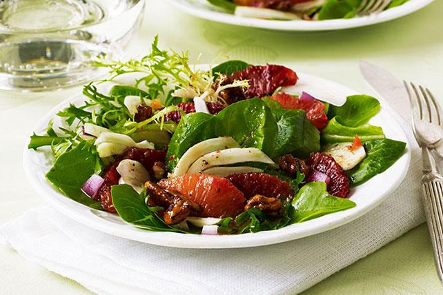 Salade de fenouil et d'orange sanguine Image 1