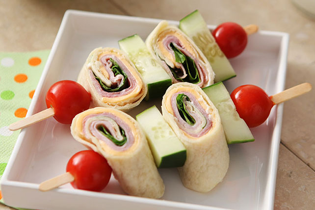 Fun Sandwich Skewers