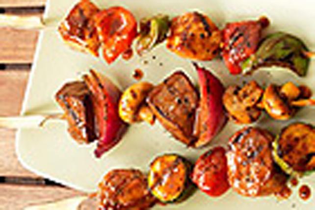 Brochettes de porc à la méditerranéenne Image 1