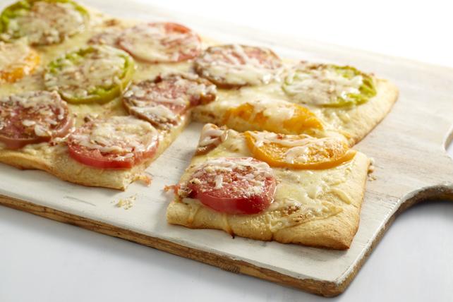 Pizza margherita aux tomates anciennes Image 1